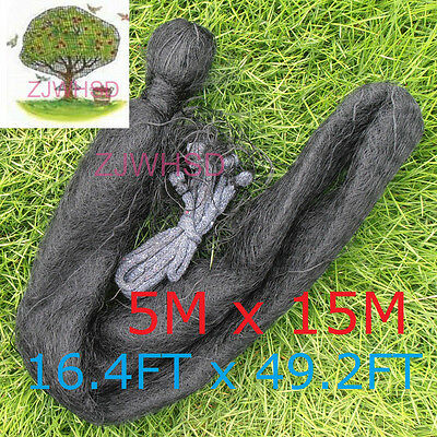 5 x 15m Mesh Anti Bird Mist Net 20mm hole Orchard Protect Prevent Sparrow Damage