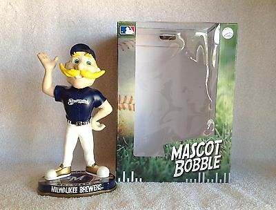 Bernie Brewer Milwaukee Brewers Mascot Bobble Bobblehead 2012 LIMITED EDITION