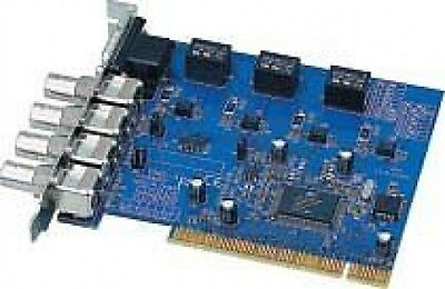 Scheda Pci - 4 Ingressi Video Coax + Software Videosorveglianza