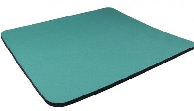 GREEN Quality Mouse Mat Pad Foam Backed Fabric - 5mm * 3 for the price of 2 *
