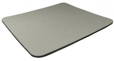 GREY Quality Mouse Mat Pad  Foam Backed Fabric - 5mm * 3 for the price of 2 *