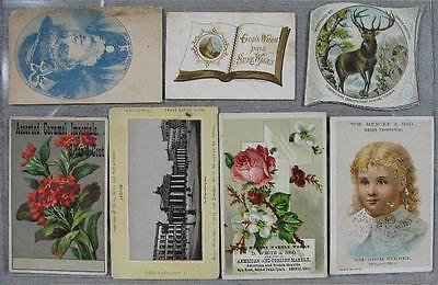 Lot of 26 1870's-1900's Real Nice Trade Cards