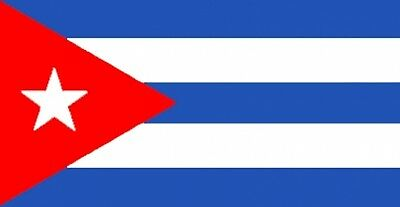 "CUBA FLAG 18"" X 12"" for boats treehouses caravans boat caravan flags CUBAN FLAGS"