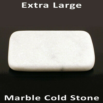 HOT STONE MASSAGE Extra Large Marble Cold Stone 16x10x2