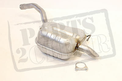 Ford S-max Smax 2.0 Tdci 140 Bhp Rear Exhaust Silencer & Free Clamp 06-09