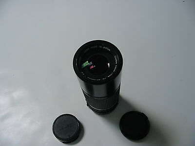 NEW Canon FD Manual Focus Zoom Camera Lens 1:5.6 100-200mm