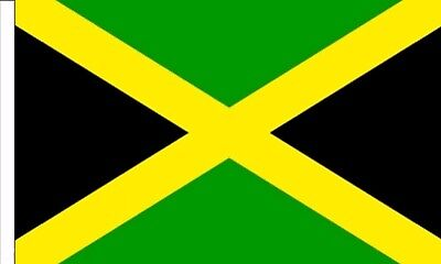 "JAMAICA FLAG 18"" X 12"" for boats treehouses caravans Caribbean Jamaican flags"