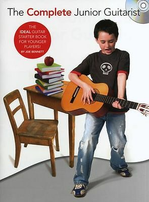 Joe Bennett The Complete Junior Guitarist Learn to Play Guitar Music Book & CD