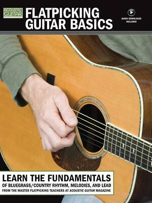 Acoustic Private Lessons Flatpicking Basics Learn to Play Guitar Music Book & CD