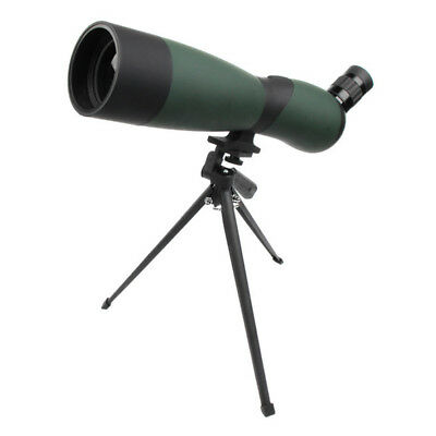 25-75x70mm Angled Zoom High Precision Waterproof Spotting Scope Telescope Tripod