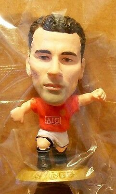 Microstars MANCHESTER UTD (HOME) GIGGS, GOLD BASE MC11806
