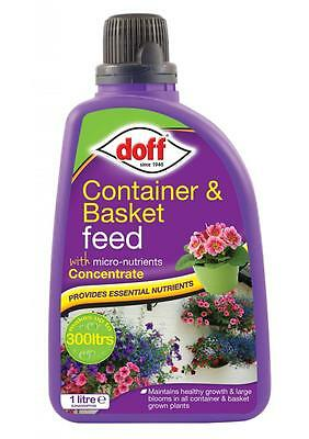 PLANT FOOD for Hanging Basket Container CONCENTRATE 1 Litre Makes 300 Litre DOFF