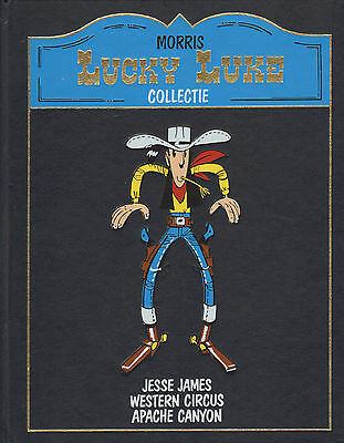 Lucky Luke Collectie - Jesse James/western Circus/apache Canyon (1988)