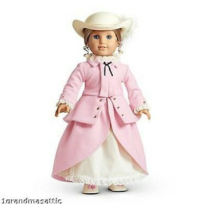 American Girl Elizabeth Riding Outfit NIB Hat Retired Doll Not Included