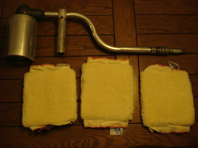 Astro Aircraft Drum Polisher 8277  With Pads