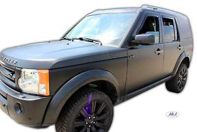 DRO27223 Land Rover Discovery 3 2005-2009 wind deflectors 4pc TINTED HEKO