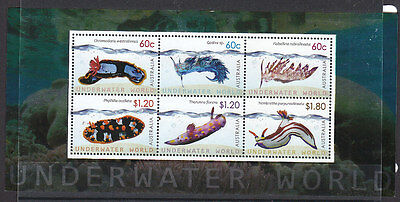 Australia 2012 Underwater World S/S MNH