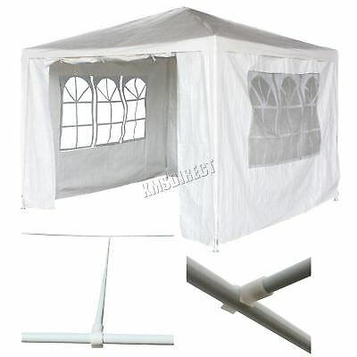 3m x 3m Party Tent Marquee Marquees Gazebo Garden PE Tent Canopy Waterproof New