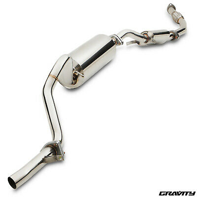 "Stainless Cat Back Sport 3"" Exhaust System For Audi Tt Tts 2.0 Quattro 08-14"