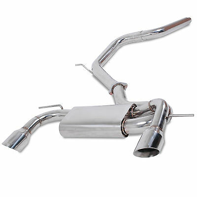"Seat Leon 2.0 Tdi Tfsi Fr 05-12 Stainless Steel 3"" Cat Back Sport Exhaust System"