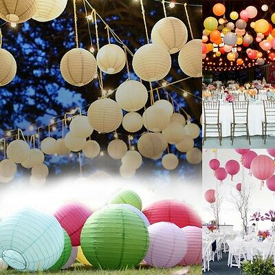 """Lot Wedding Party Paper Lantern Chinese Home Decor 6"""" 8"""" 10"""" 12"""" 14"""" 16"""" 18"""""""