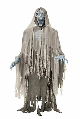EVIL ENTITY LIFESIZE Haunted House 70in Halloween Prop Animated Ghost Zombie