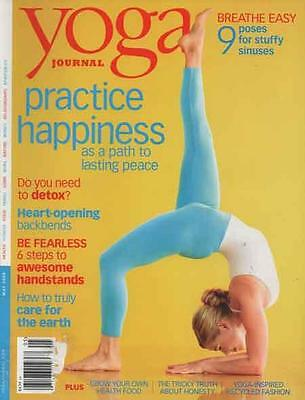 YOGA JOURNAL - Issue 210 - May 2008 .......... NEW