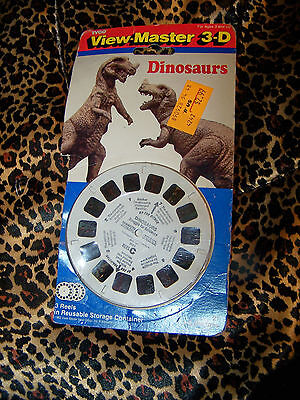 Vintage View Master Dinosaurs 3D Set 1991 Tyco