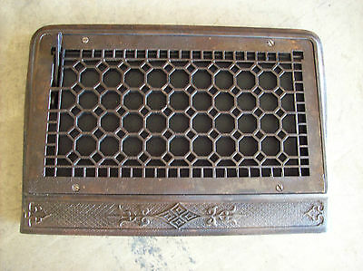 Wide Honey comb single wall mount heating grates (G 442)