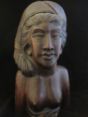 Bali Wood Sculpture of Woman