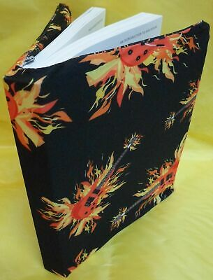 1 NEW  Black Book Cover Stretchable Fabric Sox School College Student  WHOLESALE