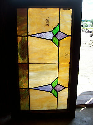 Arts & Crafts Symmetrical Stained glass window (SG 1306)