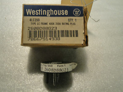 New Westinghouse 4Lc350 350A Rating Plug