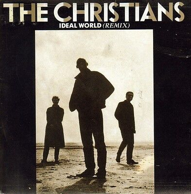 The Christians-Ideal World Remix + Say It Isnt So Single Vinilo 1987 Spain