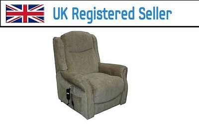Willis & Gambier Full Flat Rise and Recline Electric chair 824 Avocado Green