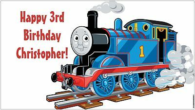NOW $29.95!! Custom Thomas the Train & Friends Birthday Party Banner Decorations