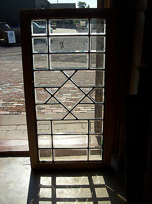 Simple arts & crafts All bevel glass window (SG 1325)