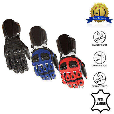 Collection of Racing Protective  Motorcycle Motorbike Biker Waterproof Gloves