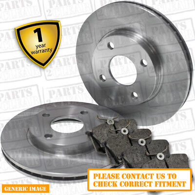 VAUXHALL CORSA C 00-06 1.4 1.8 1.3 CDTi FRONT VENTED BRAKE DISCS + PADS