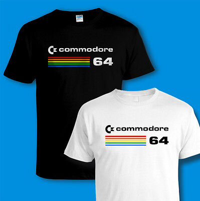COMMODORE 64 [C64] COMPUTER T-SHIRT Retro 80s Video PC Games All Sizes 3XL 4XL