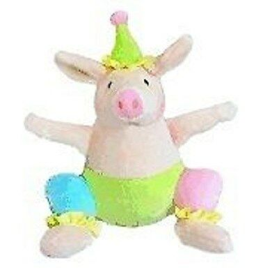 NEW 6.5 inch Piggies Silly Piggy plush doll by Merrymakers
