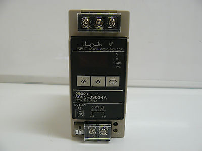 Omron S8Vs-09024A Power Supply Output Dc24V 3.75 Amp Input Ac100-240 Volt 2.3A