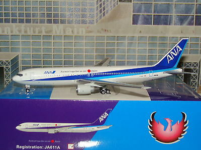 Phoenix 400 ANA B767 -300 Forward together as one Japan  1/400 **Free S&H**