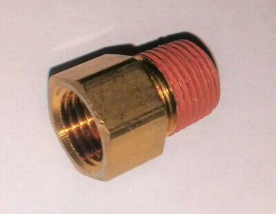 """Russell 642791 Brake Adapter Fitting SAE  1//8/"""" NPT Male 90 degree"""