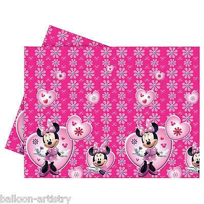 180cm Disney Minnie Mouse Party Plastic Table Cover