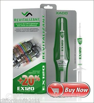 XADO Revitalizant EX120 for gearboxes Reinforced