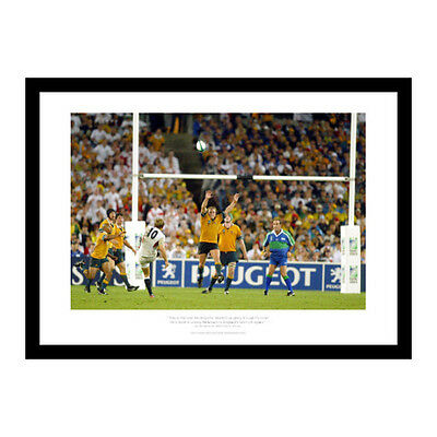 Jonny Wilkinson 2003 Rugby World Cup Drop Kick Photo Memorabilia (CC554)