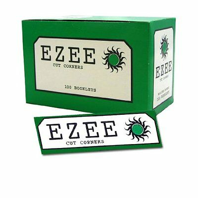 Ezee Green Rolling Papers 100 Booklets X 50= 5000 Rollups Full Box Cheapest!
