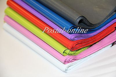 GREY BLUE RED GREEN PINK Postage Mailing Bags 7x9 50 100 6x9 postal DVD Small