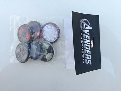 Marvel The Avengers collectible pins / buttons New In Package
